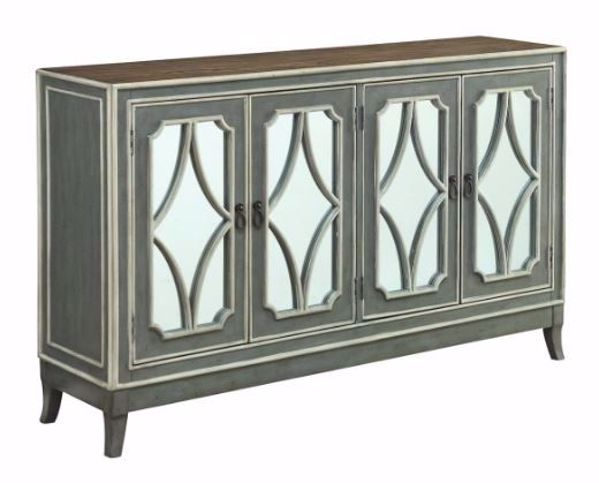 Picture of HEATHERFIELD GRAY CREDENZA