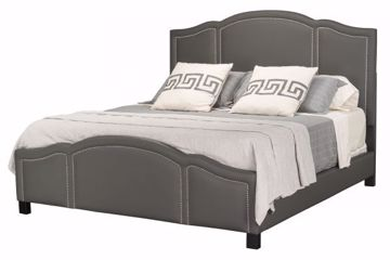 Picture of BRENTMORE KING UPHOLSTERED BED CHARCOAL