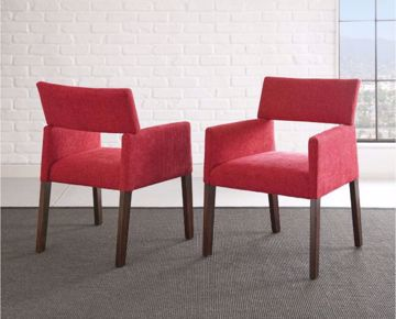 Picture of AMALIE SIDE CHAIR RED