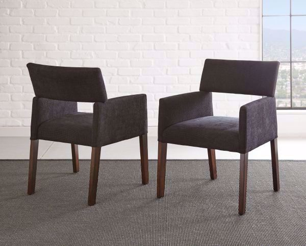 Picture of AMALIE SIDE CHAIR BLACK