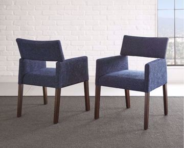 Picture of AMALIE SIDE CHAIR NAVY
