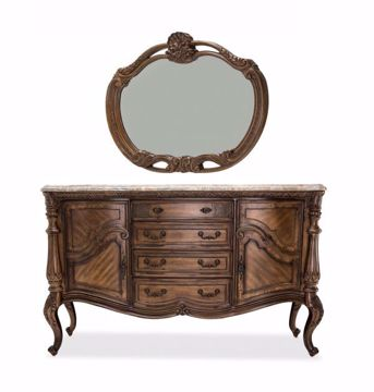 Picture of EDEN'S PARADISE SIDEBOARD & MIRROR