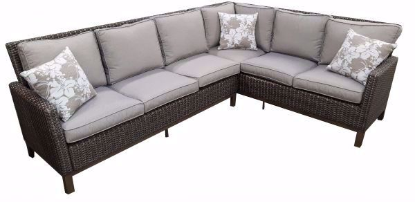 Picture of LENNOX 2-PC. DINING BANQUETTE SECTIONAL