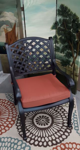 Picture of CASTLE ROCK DINING CHAIR BRONZE