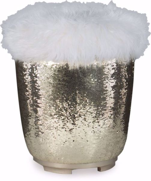 Picture of GLITZ & GLAM VANITY STOOL