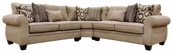Picture of SULLIVAN CIGAR 3-PC. SECTIONAL