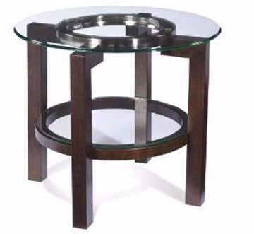 Picture of OSLO ROUND END TABLE