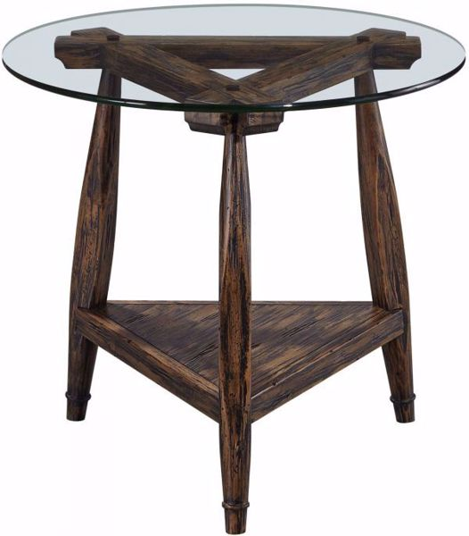 Picture of BENNIS ROUND END TABLE