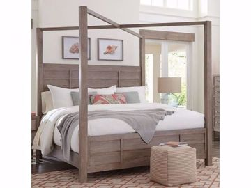 Picture of WATER'S EDGE KING CANOPY BED
