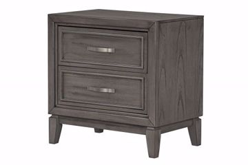 Picture of WINCHESTER GREY NIGHTSTAND