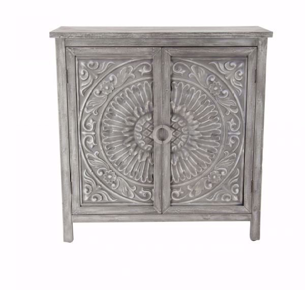 Picture of CARVED ACCENT CHEST