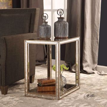 Picture of JULIE MIRRORED END TABLE