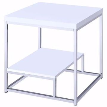 Picture of LUCIA END TABLE WHITE