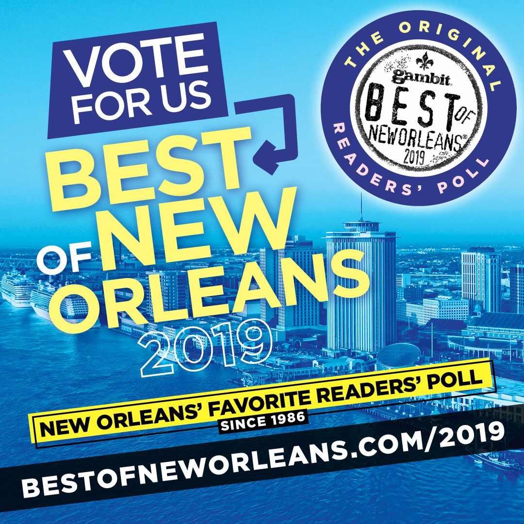 Best of new Orleans Poll 2019/Vote for Us