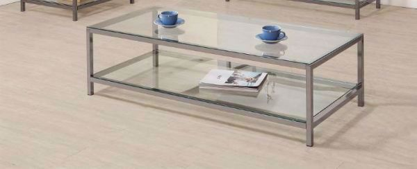 Picture of BLACK NICKEL COCKTAIL TABLE