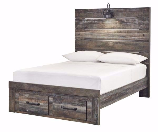 Picture of DRYSTAN FULL PANEL STORAGE BED