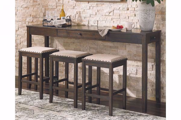 Picture of ROKANE SOFA TABLE BAR & 3 STOOLS