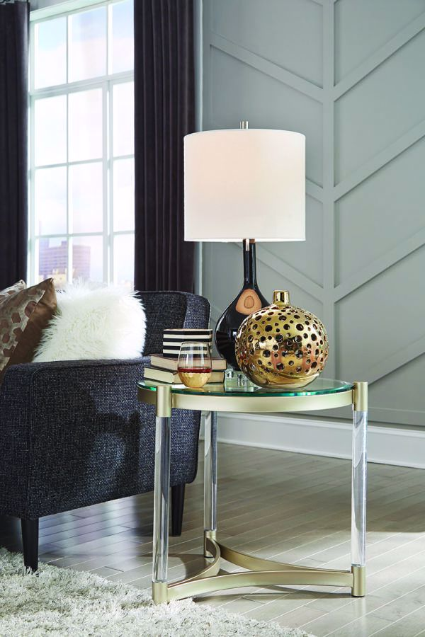 Picture of SILAS ROUND END TABLE