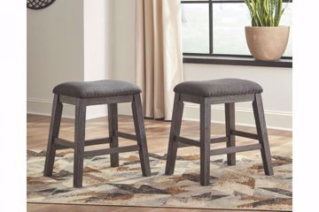 Picture of CAITBROOK UPHOLSTERED STOOL