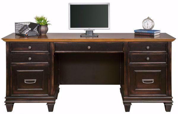 Picture of HARTFORD BLACK CREDENZA