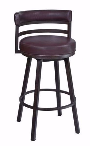 """Picture of MADRID 26"""" COUNTER STOOL AUBURN"""