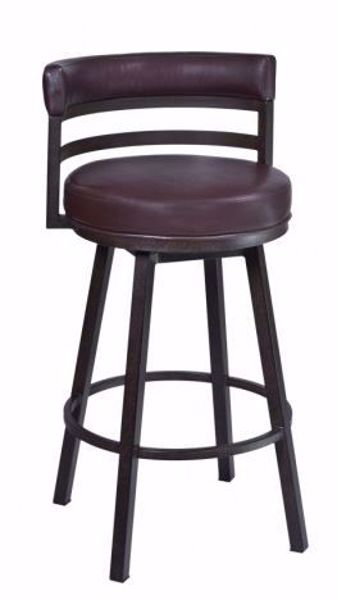 "Picture of MADRID 30"" BARSTOOL AUBURN"