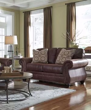 Picture of RUSTIC PRAIRIE LOVESEAT
