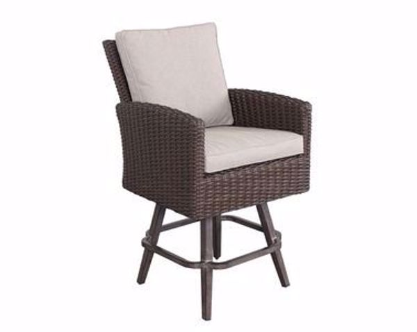 Picture of BROOKSTONE SWIVEL BARSTOOL