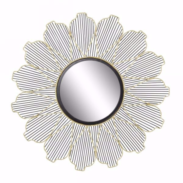 Picture of METAL GLASS WALL MIRROR