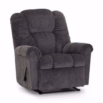 Picture of RUBEN RECLINER CHARCOAL