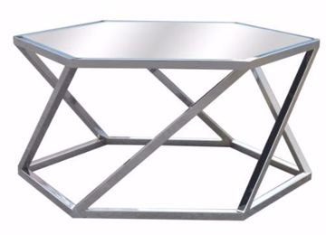 Picture of MELROSE HEXAGON COCKTAIL TABLE