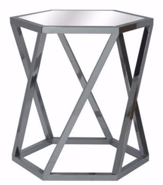 Picture of MELROSE HEXAGON END TABLE