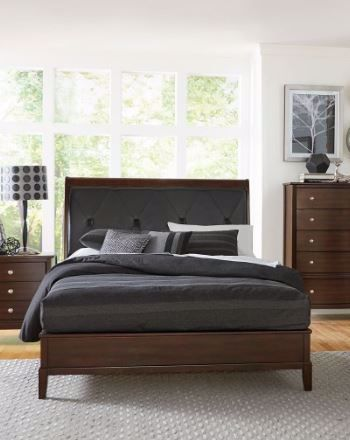 Picture of COTTERILL KING UPHOLSTERED BED