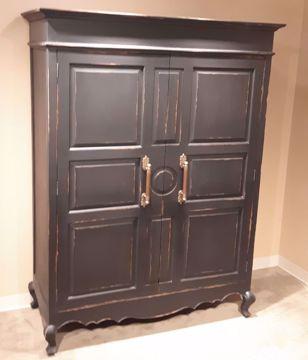 Picture of CARRINGTON ARMOIRE BLACK