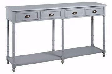 Picture of EIRDALE CONSOLE TABLE GRAY