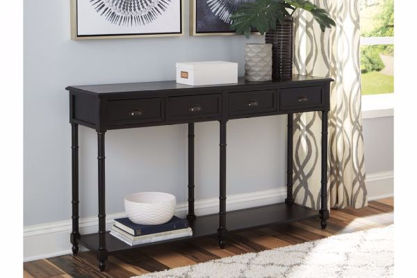 Picture of EIRDALE CONSOLE TABLE BLACK