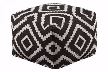 Picture of GEOMETRIC POUF
