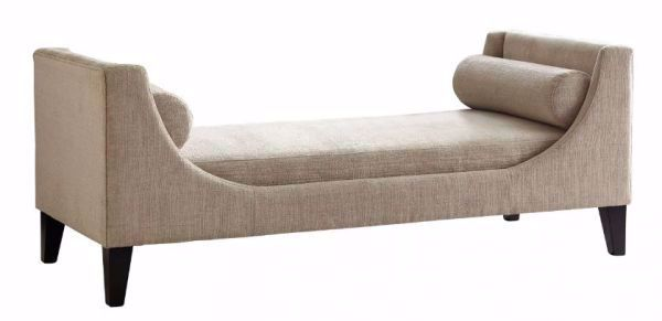 Picture of BEIGE ACCENT SETTEE