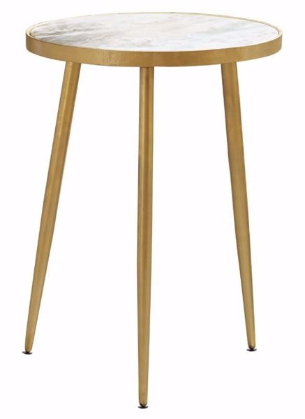 Picture of THREE LEG ACCENT TABLE