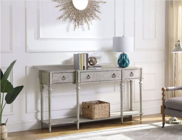 Picture of ANTIQUE GREY CONSOLE TABLE