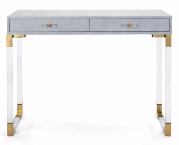 Picture of MISTY SHAGREEN CONSOLE TABLE