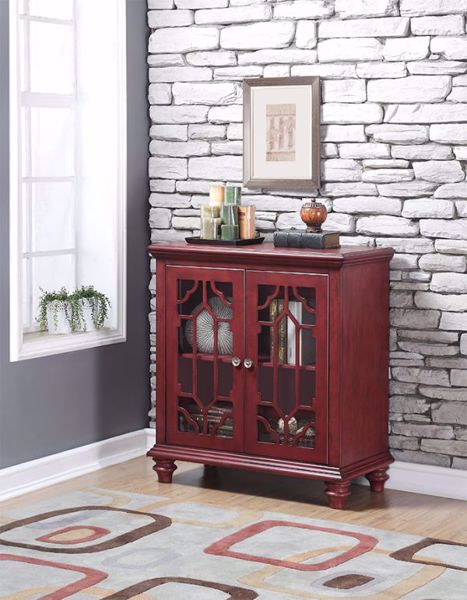 Picture of ENZO ACCENT CHEST RED