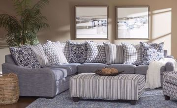 Picture of TANGIER NAVY 2-PC. SECTIONAL