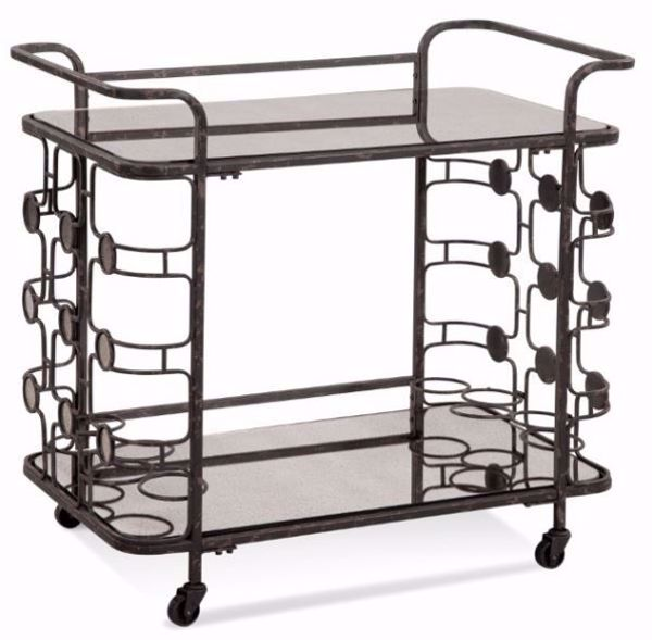 Picture of VELDE BAR CART
