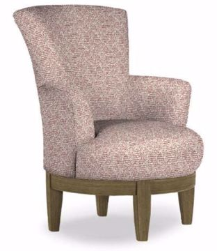 Picture of JUSTINE SWIVEL CHAIR CORAL