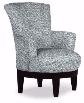 Picture of JUSTINE SWIVEL CHAIR BALTIC