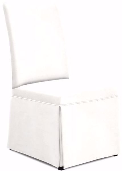 Picture of HAZEL SKIRTED PARSON CHAIR