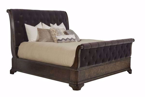 Picture of LANDMARK UPHOLSTERED KING SLEIGH BED