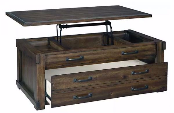 Picture of LAKELEIGH LIFT TOP COCKTAIL TABLE