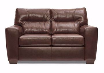 Picture of LAVISH CHESTNUT LOVESEAT